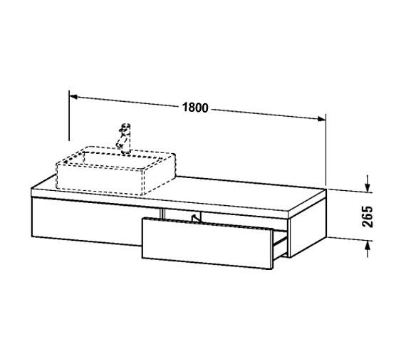 Technical drawing QS-V61849 / DL6792L1818