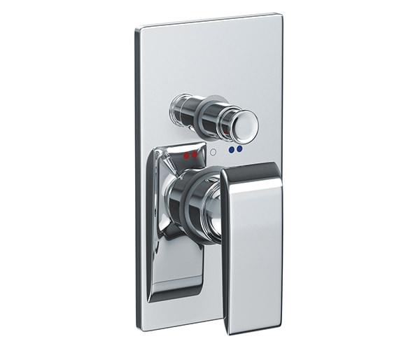 Abode Euphoria Concealed Shower Mixer Valve With Diverter - AB2700