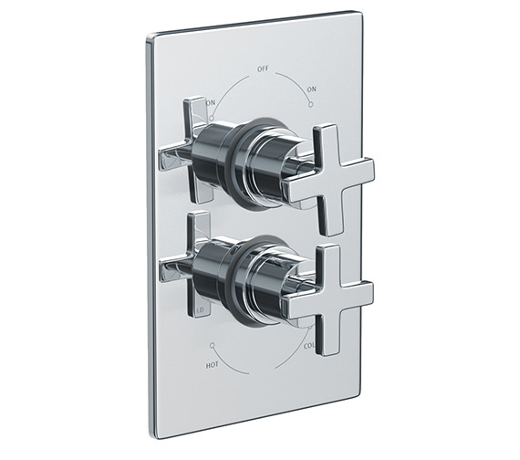Abode Euphoria Concealed Thermostatic Shower Mixer Valve - AB2218