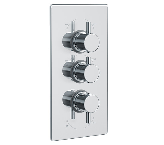 Abode Harmonie Concealed Thermostatic Shower Valve - AB2222
