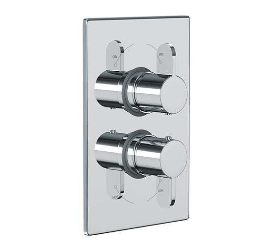 Abode Bliss Concealed Thermostatic Shower Valve 1 Exit - AB2226