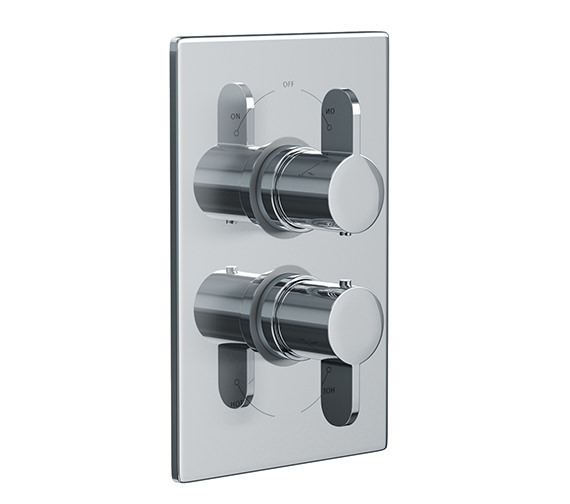 Abode Bliss Concealed Thermostatic Shower Valve 2 Exit - AB2227