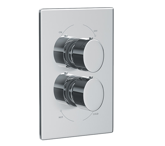 Abode Debut Concealed Thermostatic Shower Valve 1 Exit - AB2230
