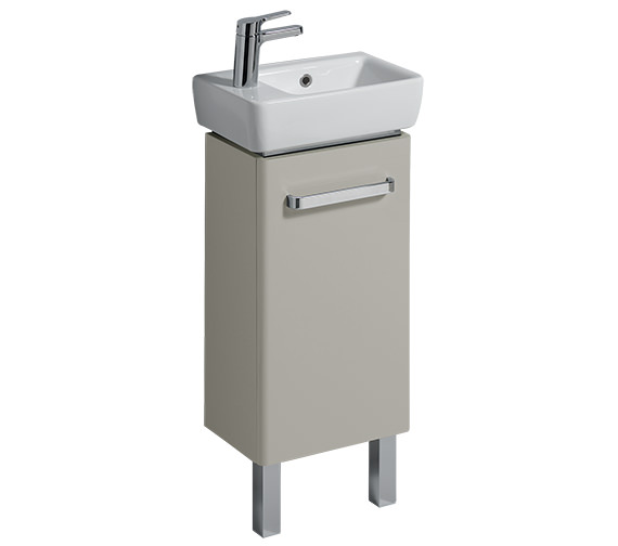 Additional image of Twyford E200 400 x 250mm 1 Left Hand Tap Hole Handrinse Washbasin