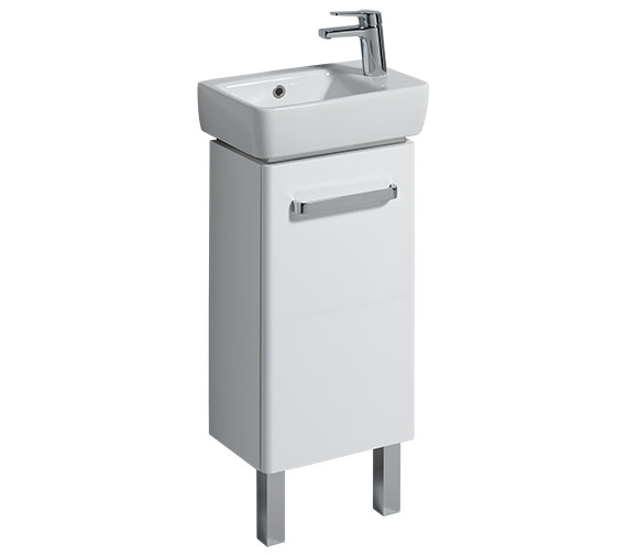 Additional image of Twyford E200 400 x 250mm 1 Tap Hole Handrinse Washbasin
