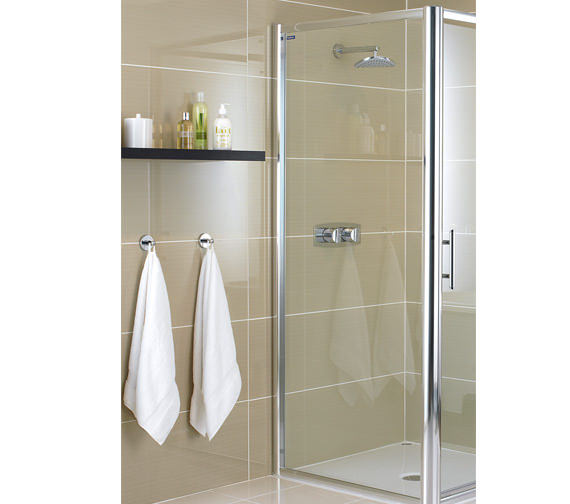Showerlux Glide 6mm Glass Side Panel 760mm - 6950760500