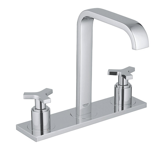 Grohe Spa Allure 3 Hole Deck Mounted Basin Mixer Tap - 20143000