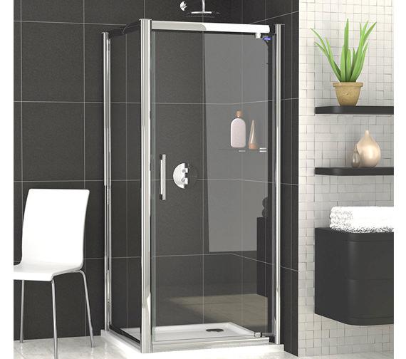 Showerlux Legacy Pivot Shower Door 900mm - 6210900100
