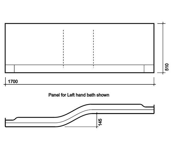 Technical drawing QS-V27858 / TA7171WH