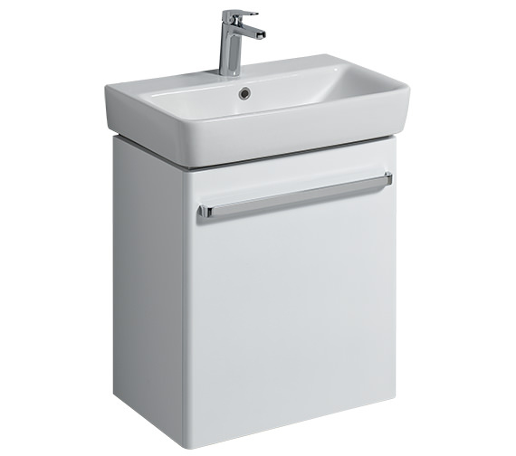Twyford E200 550mm Unit For 600mm 1 Or 2 Tap Hole Basin