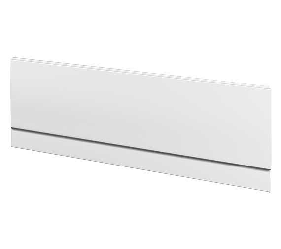 Twyford All Rectangular Front Bath Panel 1700mm - TA7121WH