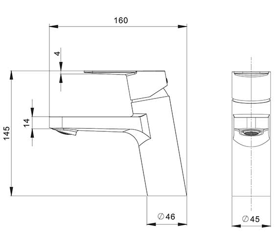 Technical drawing QS-V27860 / KH06_110DNC