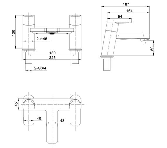 Technical drawing QS-V27861 / KH06_322DC