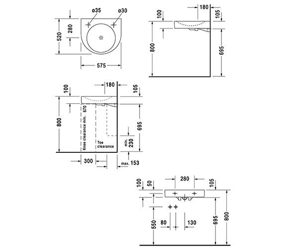 Technical drawing QS-D19355 / 0443580009