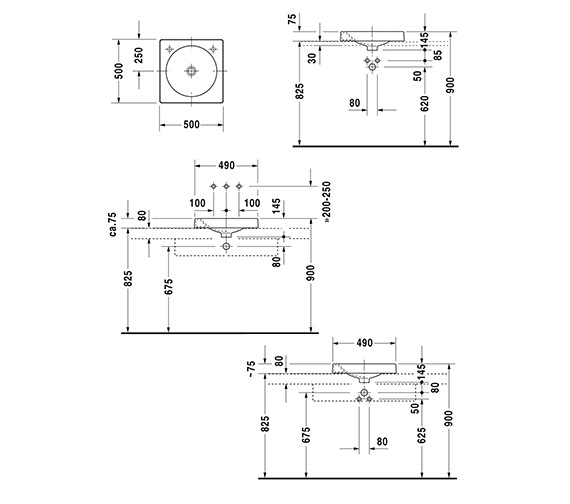 Technical drawing QS-D19349 / 0320500000