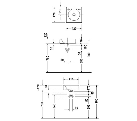 Technical drawing QS-D19352 / 0320420000