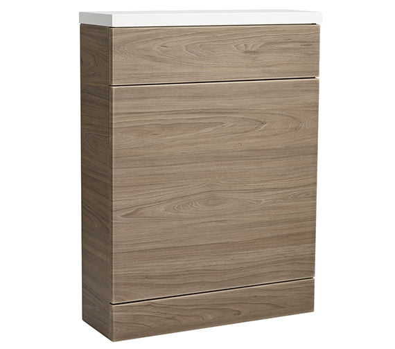 Roper Rhodes 600mm Dark Elm Back To Wall Wc Unit And Worktop