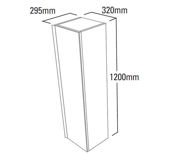 Technical drawing QS-V4151 / PURCMIR12W