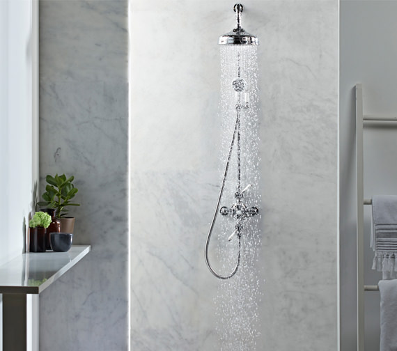 Roper Rhodes Henley Dual Function Exposed Shower System - SVSET50