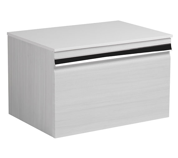 Additional image of Roper Rhodes Pursuit 600 x 370mm Charcoal Elm Wall Mounted Unit