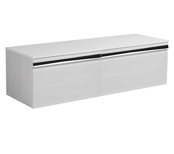 Roper Rhodes Pursuit Alpine Elm 1200 x 370mm Wall Mounted Unit