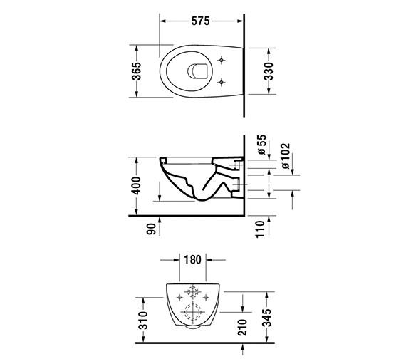 Technical drawing QS-V49382 / 2546090064