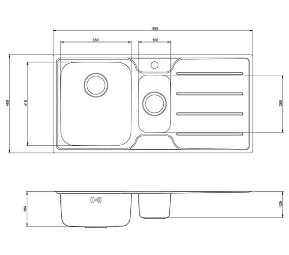 Technical drawing QS-V27794 / PL15XXHOMESKL
