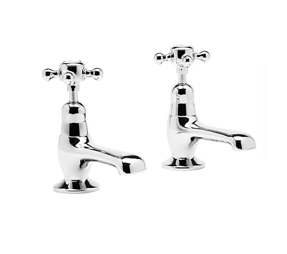 Roper Rhodes Henley Pair of Basin Tap Chrome - T267002