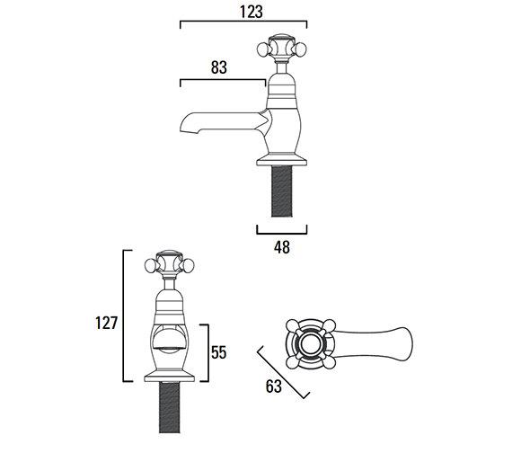 Technical drawing QS-V4186 / T267002