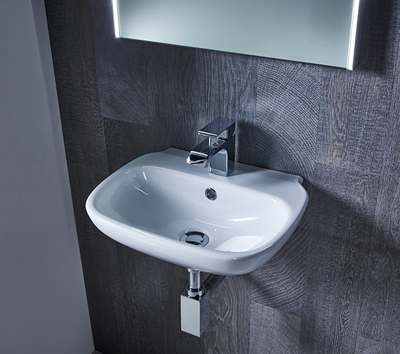 Roper Rhodes Note 450mm Wide Wall Mounted Or Countertop Basin