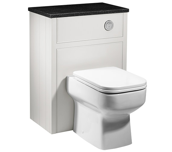 Roper Rhodes Hampton Chalk White Back To Wall Wc Unit 600mm - HAM600BTW.W
