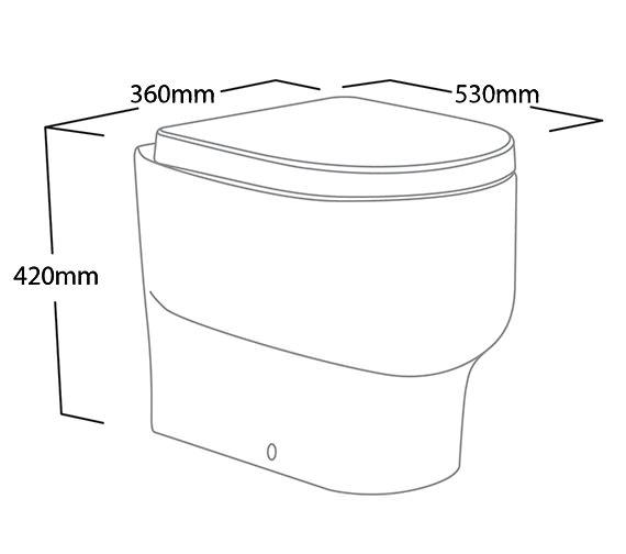 Technical drawing QS-V6155 / EBWPAN