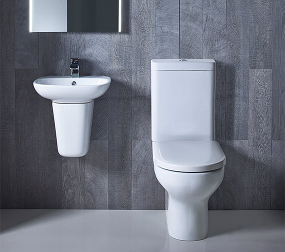 Roper Rhodes Note Close Coupled WC Pan With Cistern And Seat