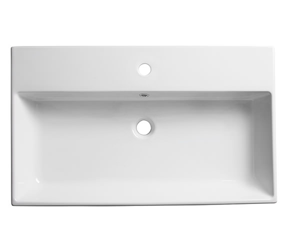 Roper Rhodes Statement 800mm Wall Mounted Or Countertop Basin - S80SB