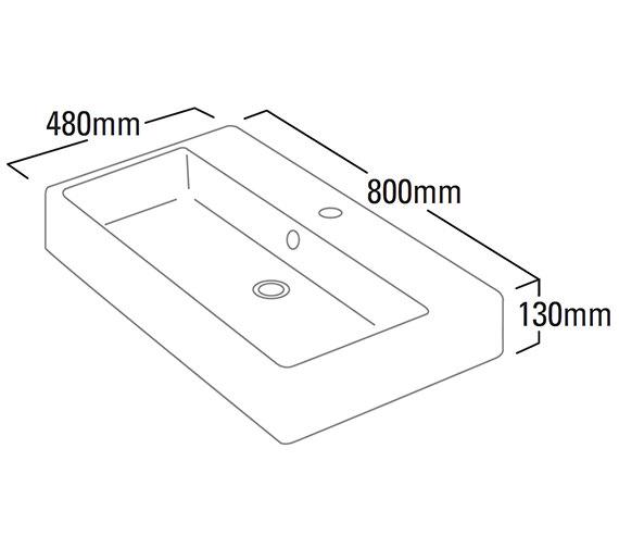 Technical drawing QS-V6174 / S80SB