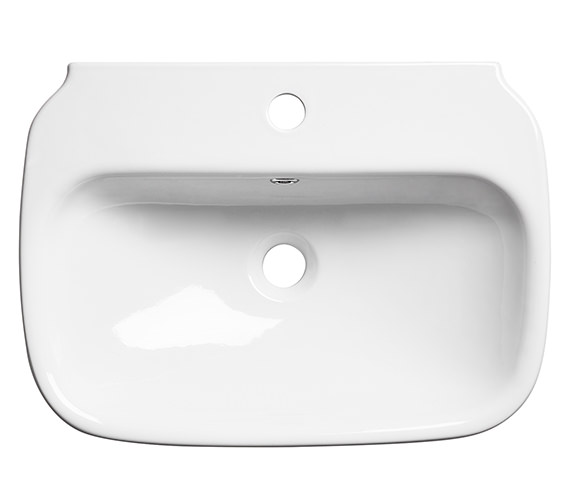 Additional image of Roper Rhodes Note 450mm Wide Wall Mounted Or Countertop Basin