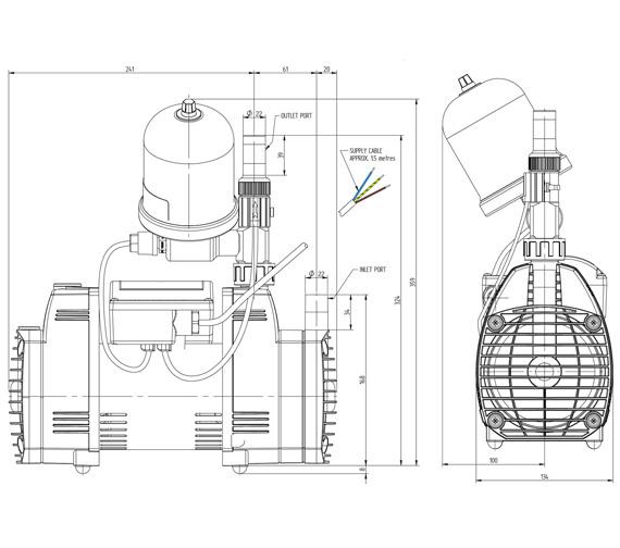 Technical drawing QS-V72923 / 49082