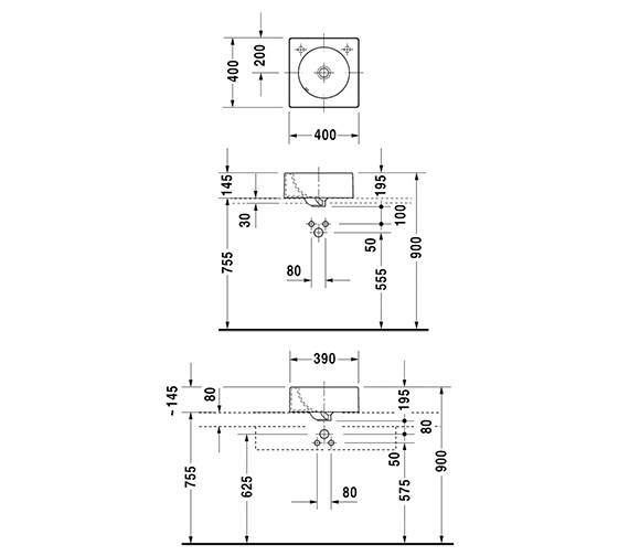 Technical drawing QS-D19353 / 0320400000