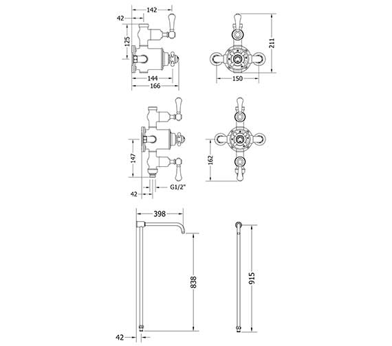 Technical drawing QS-V27920 / BEL_BRACKET