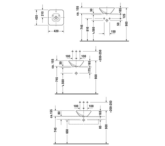 Technical drawing QS-V49391 / 0333420000