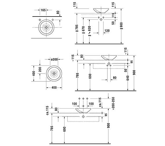 Technical drawing QS-V49395 / 0451400000