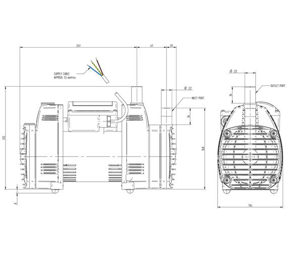 Technical drawing QS-V72929 / 49078