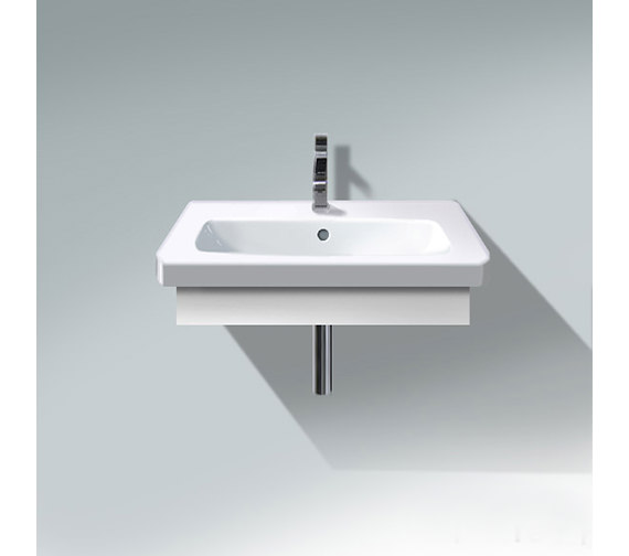 Duravit DuraStyle 580mm Washbasin Trim With Basin - DS608001818