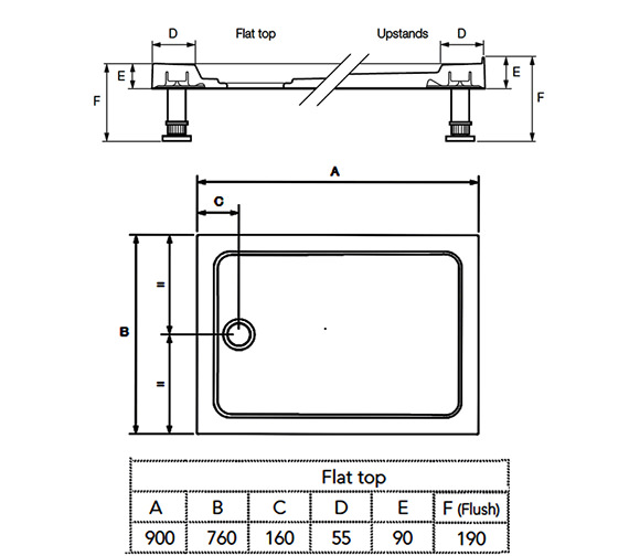 Technical drawing QS-V78715 / 1.1783.009.WH