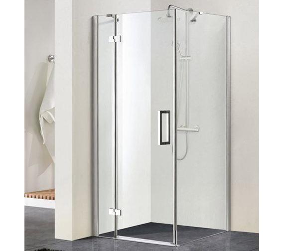 Aqualux aqua 8 vibe pivot shower door 1000mm 1159246 for 1000mm pivot shower door
