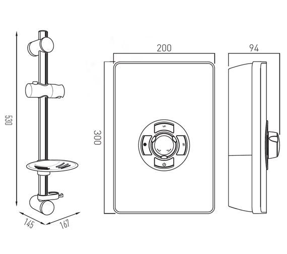 Technical drawing QS-V8311 / ELS-ELE-95-MET