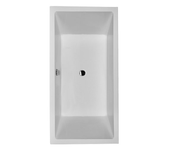 Duravit Starck 1800 x 900mm Rectangular Bath With 2 Backrest Slope - 700052