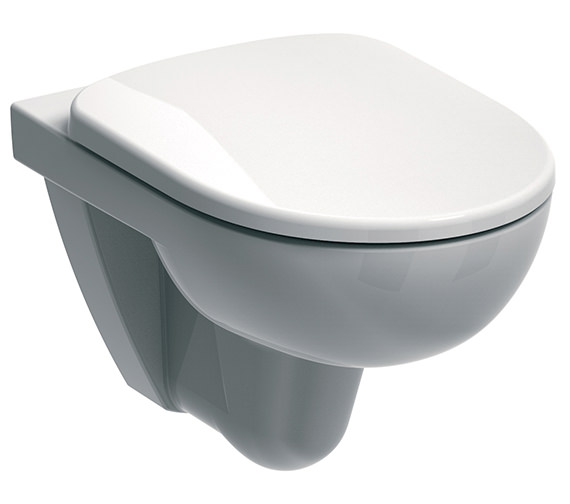 Twyford E100 Round Flushwise Wall Hung WC Pan 530mm - E11708WH