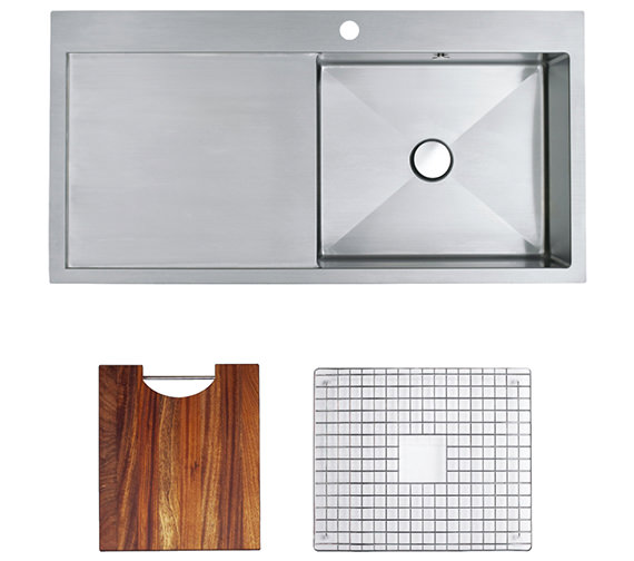 Astracast Vantage 1.0 Bowl Stainless Steel Inset Sink And Accessory