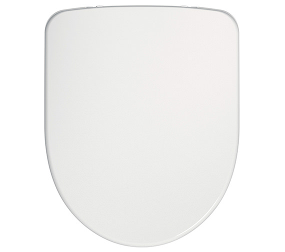 Twyford E100 Round Soft Close Toilet Seat And Cover With Top Fix Hinge